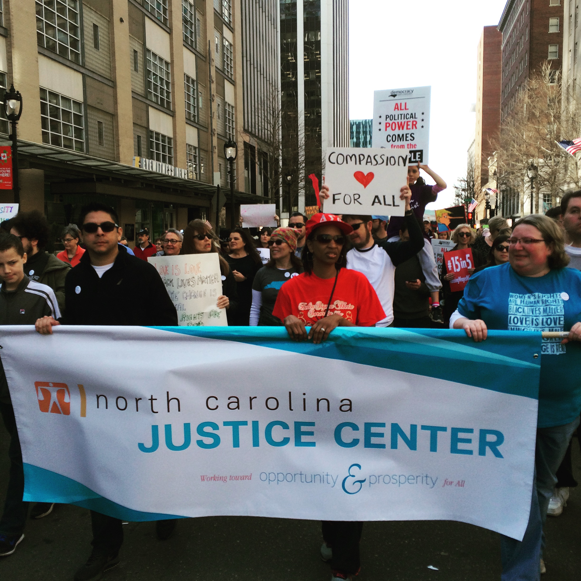 North Carolina Justice Center – Opportunity and prosperity